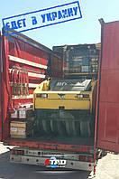 Еще один каток едет к нам на склад в Киеве!  Каток Bomag  BW 151 AD-5 уже погружен на машину и следует в Украину!