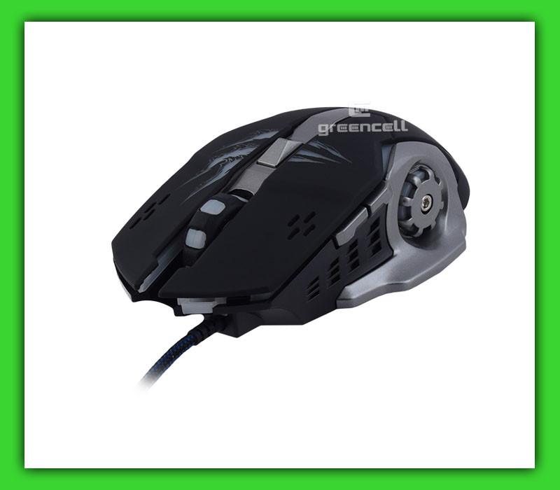 Игровая мышка Apedra A8 проводная