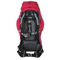 Рюкзак туристичний Terra Incognita Vertex 80 red / gray для пішого та гірського туризму, для екстрем