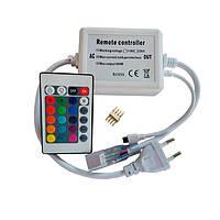 Контроллер для светодиодной ленты Biom 220В RGB 600W с ИК пультом