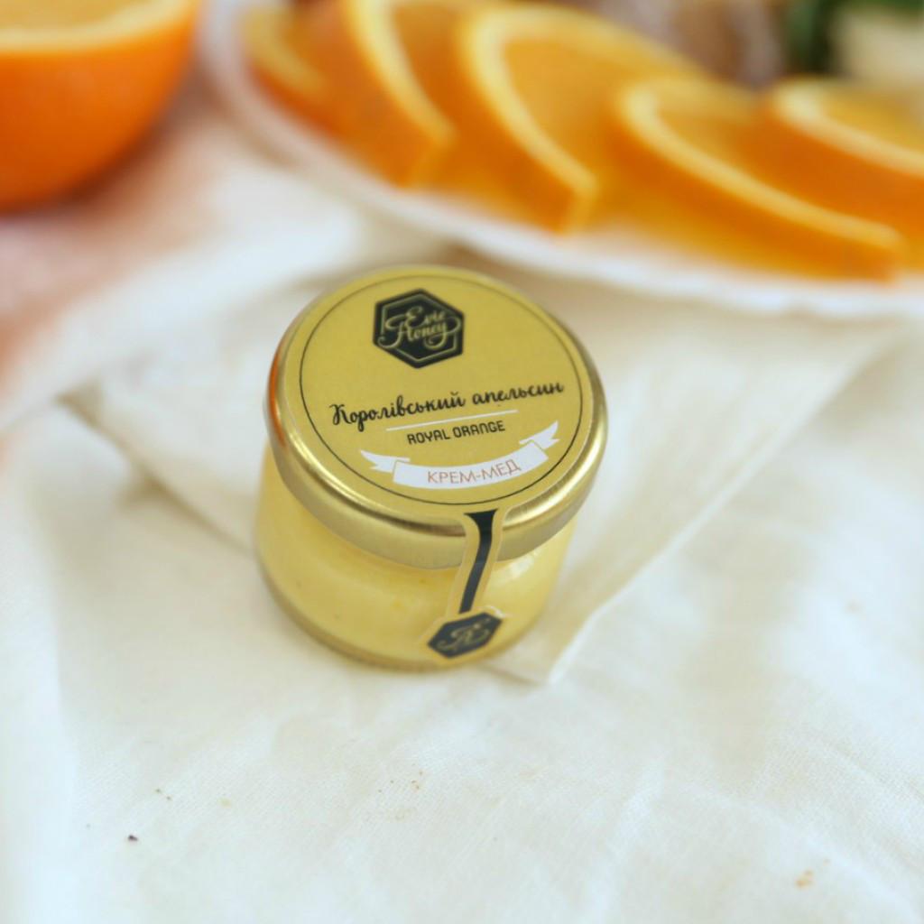 """Крем-мед с апельсином """"Королевский апельсин"""" 30 г."""