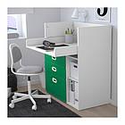 Пеленальный стол с ящиками IKEA STUVA / FRITIDS 90x79x102 см белый зеленый 092.672.74, фото 4