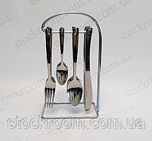 Набор столовых приборов на подставке KING Hoff  KH-3489