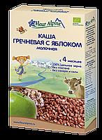 Органическая каша детская молочная Гречневая с яблоком, Fleur Alpine, 200 гр