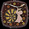 Тарелка (б. кв) «Улитка толстая»