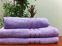 Махровая салфетка 30х30, 100% хлопок 420 гр/м2, Пакистан, Сирень Purple, Без борда