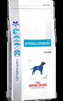 Royal Canin HYPOALLERGENIC CANINE2кг диета для собак при пищевой аллергии или непереносимости.