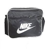 Молодежная сумка-планшет Nike текстиль горизонтальная, фото 1