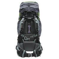 Рюкзак туристичний Terra Incognita Discover 70 green / gray для пішого та гірського туризму, для екс