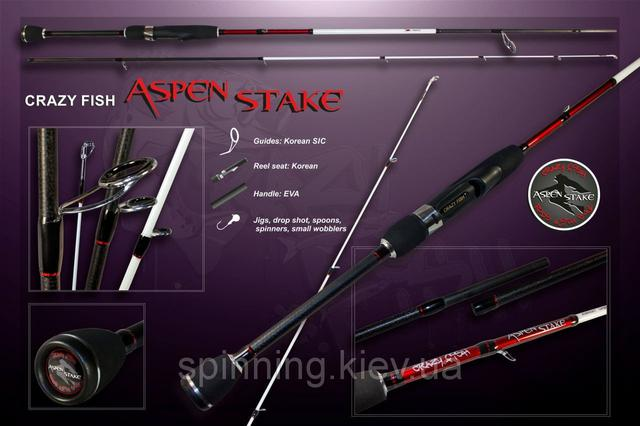Crazy Fish ASPEN STAKE