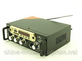 Усилитель звука 30W Mega-Sound AV-666U c Bluetooth FM MP3, фото 2