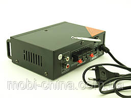 Усилитель звука 30W Mega-Sound AV-666U c Bluetooth FM MP3, фото 3