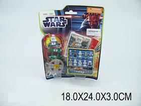 """Конструктор""""STAR WARS""""10 видов, на планш. 18х24х3 /360"""
