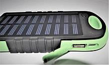 Мобильное зарядное POWER BANK 45000mAm ( прорезиненные solor 1x18LED ), фото 2