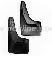 Модельные задние брызговики Kia Sportage с 2011-    2шт/цвет:черный (производитель NovLine)