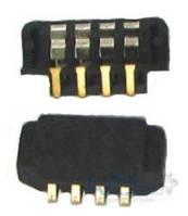 (Коннектор) Aksline Контакты батареи Motorola V3 / V3i / Z8