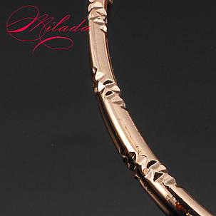 Серьги - кольца  золотистые ., фото 2
