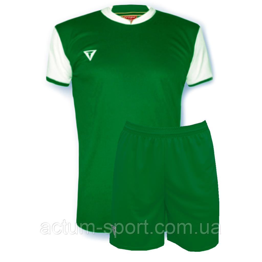 Футбольная форма Classic  Зелено/белый, M