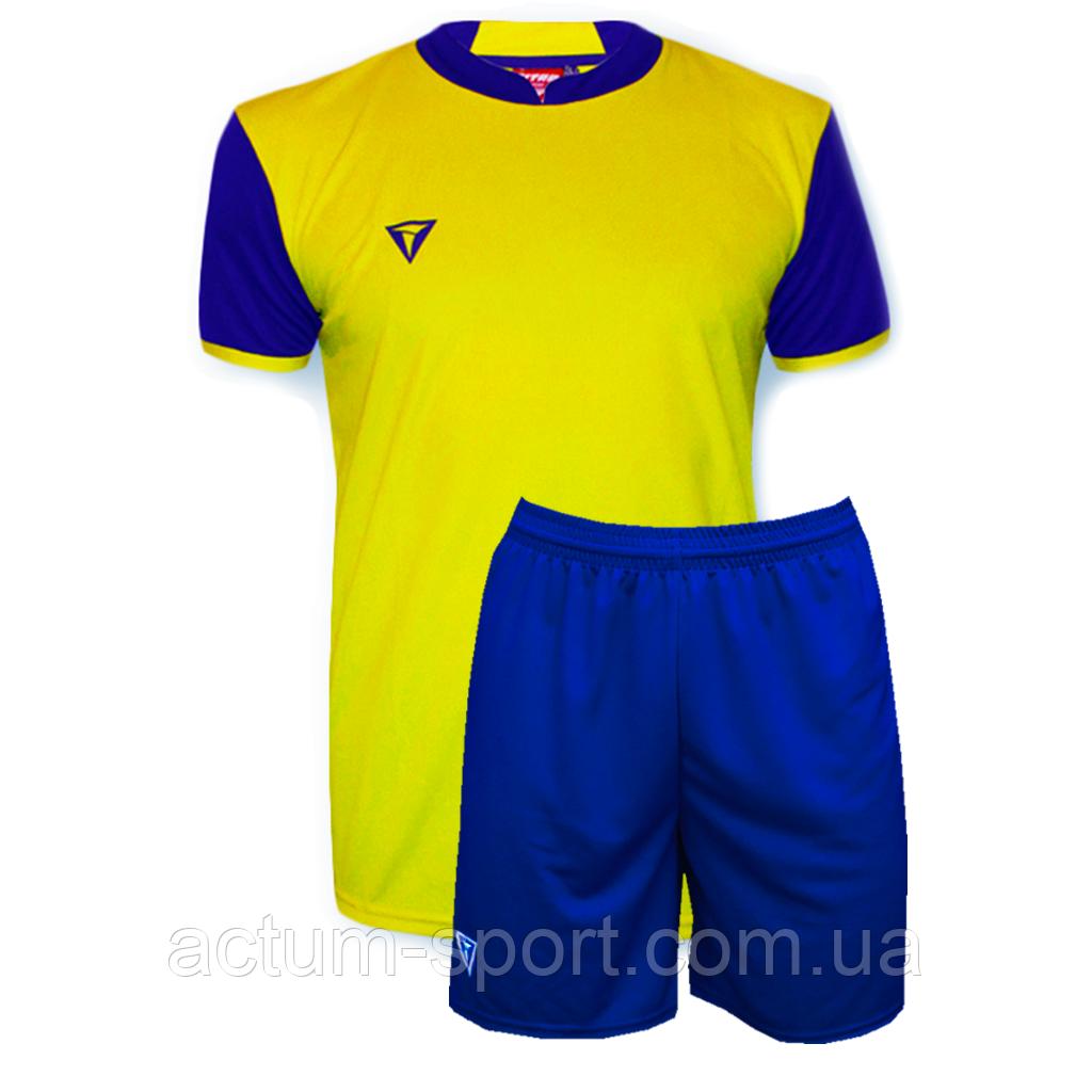 Футбольная форма Classic  Желто/синий, S