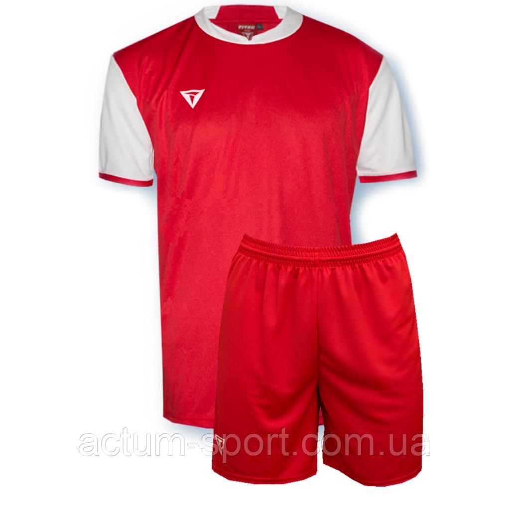 Футбольная форма Classic Красно/белый, XXL