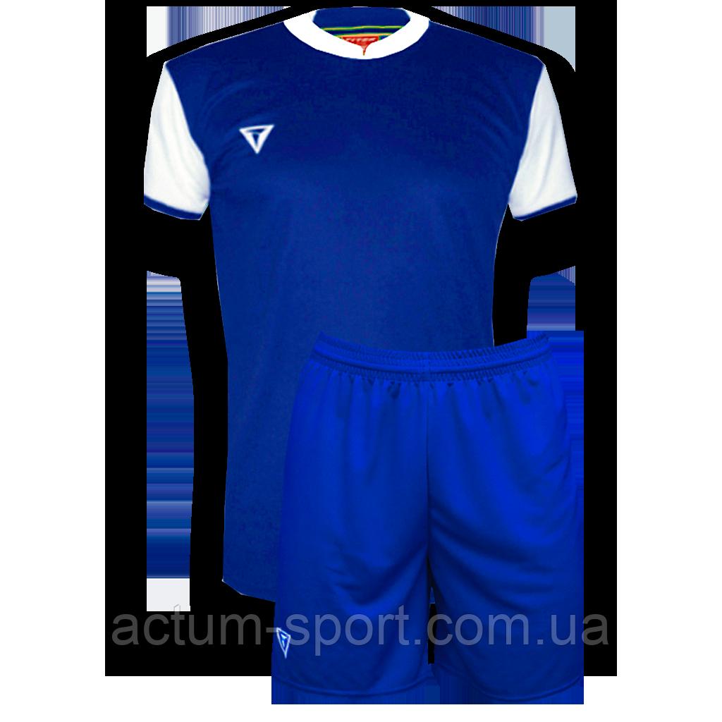 Футбольная форма Classic  Сине/белый, 146