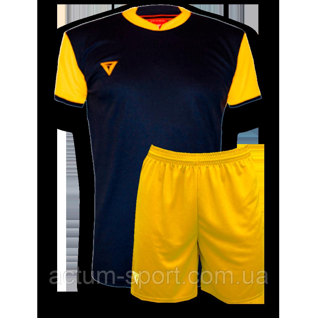 Футбольная форма Classic  Т.сине/желтый, 128