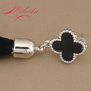 Серьги - кисточки черные., фото 2