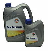 GULF ANTIFREEZE, охлаждающая жидкость концентрат синий