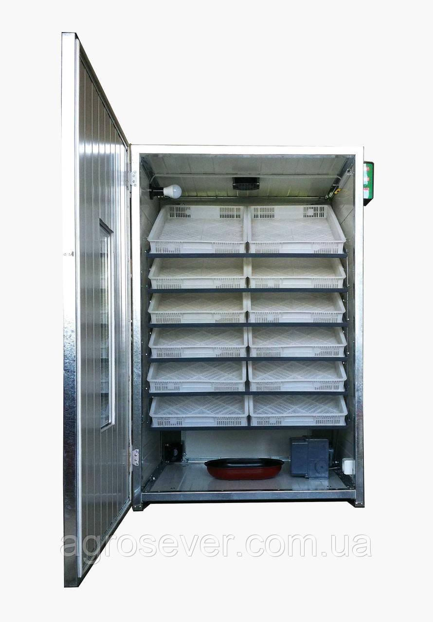 Инкубатор промышленный  Тандем - 1300 (на 1300 куриных яиц)