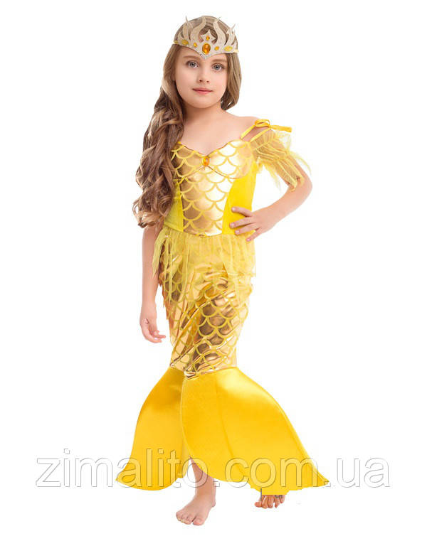 Золотая Рыбка карнавальный костюм детский