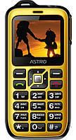 Мобильный телефон Astro B200 RX Black Yellow, фото 1