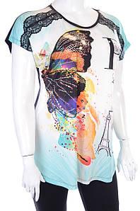 Женская футболка F011