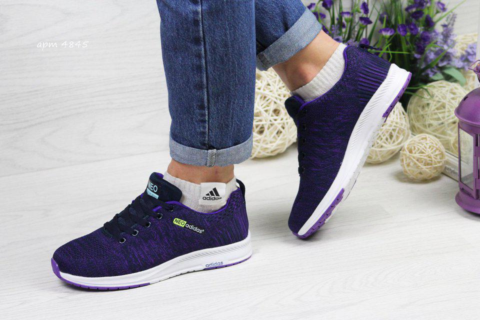 8acecb9dfe38 Кроссовки Adidas Neo Фиолетовый — в Категории