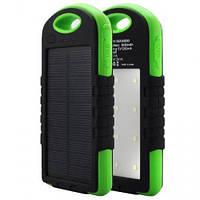 Солнечное зарядное устройство Power bank 30000Ah прорезиненный