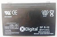Аккумулятор X-digital  6V 12Ah