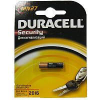 Батарейка  27A  Duracell MN27 12B блистер (для сигнализации)