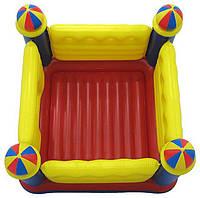 Детский надувной батут Замок производства компании Intex 48259