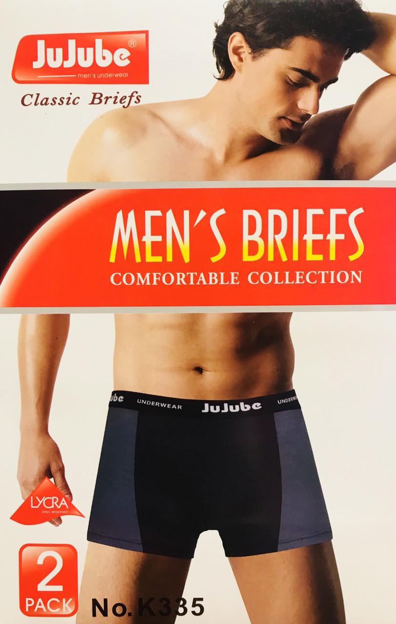Трусы мужские боксёры хлопок JuJuBe размер XL-4XL(46-52) 335