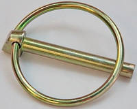 Шплинт (штифт) с кольцом DIN 11023