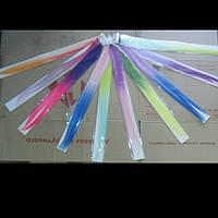 Тессы - разноцветные пряди для волос на заколках (Двухцветные)