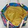 Пляжная сумка Цветочный принт опт и розница, фото 2