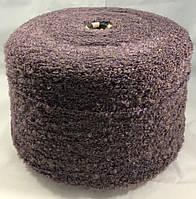 Boucle 1/3 №56 Состав: 89% акрил, 9,5 полиэстер, 1,5 эластан Пряжа в бобинах для машинного и ручного вязани