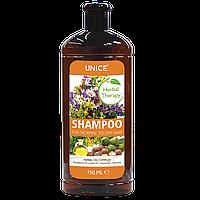 Травяной шампунь для сухих и нормальных волос 750мл 3401004