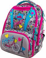 Школьный портфель Delune 8-103 Paris ортопедический для девочки сумка для сменки в подарок 28 х 19 х 37 см