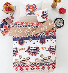 Подростковый постельный комплект Arya 160X220 Athletic Оранжевый TR1003817