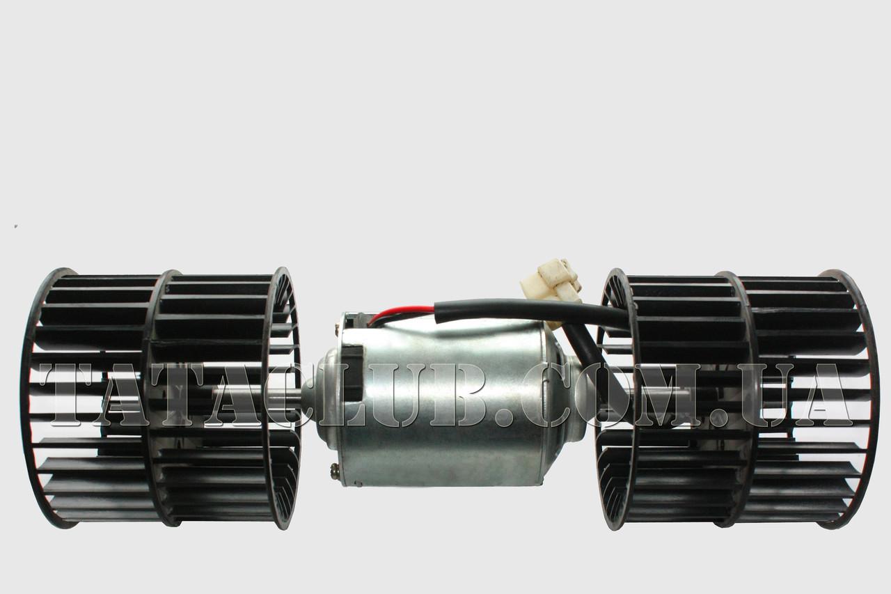 Двигатель электрический обдува лобового стекла 12V TATA MOTORS / AS. TWIN BLOWER WITH MSSL TERS & HSG.