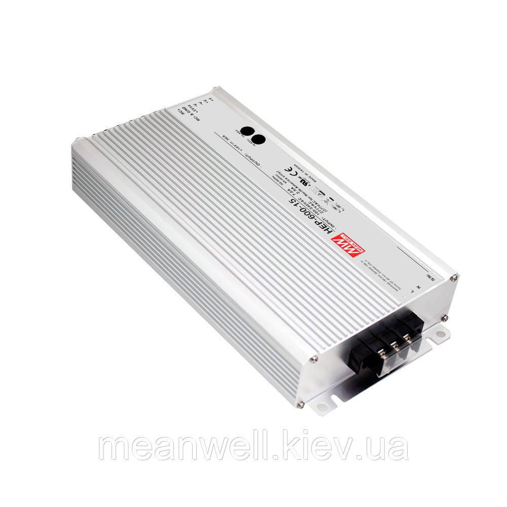 HEP-600-12 Блок питания Mean well 480 вт, 12в, 40А