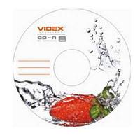 Диск CD-R  Videx Fresh клубника 700Mb/80min 52x (bulk 10)