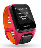 TomTom Runner 3 Cardio Dark Pink/Orange (S)