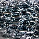 Цепь стальная 6 мм DIN 766 короткозвенная оцинкованная, фото 2